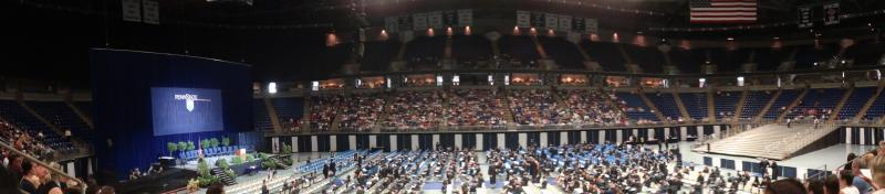 Summer 2012 Graduation at Bryce Jordan Center, State College PA